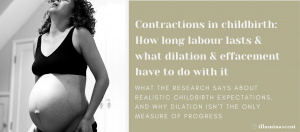 contractions labor effacement dilation