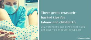 Blog Childbirth tips