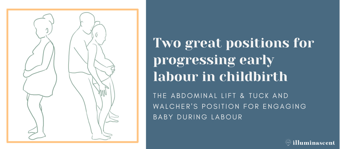 Early labour positions